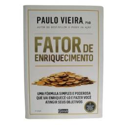 Livro Fator De Enriquecimento Por Paulo Vieira Phd Int Emoci