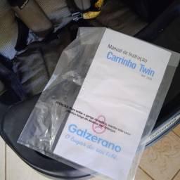 Título do anúncio: Carrinho Galzerano (gêmeos) - modelo TWIN