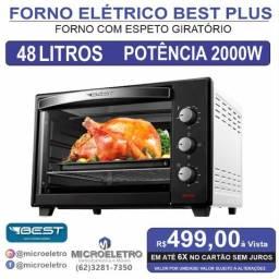 Título do anúncio: Forno Elétrico 48 Litros Best
