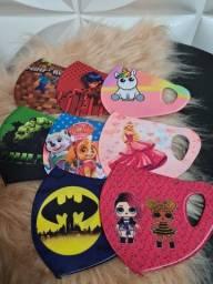 Máscara covid Personalizadas mais de 1000 artes direto da fábrica