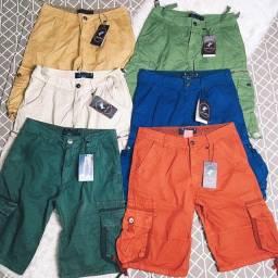 Título do anúncio: Bermuda Jeans Com Bolso Masculina Qualidade