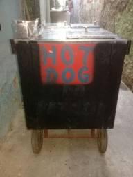 Carinho de Hot Dog