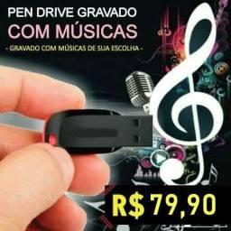 Pen Drive Com Musicas ( Personalizado )