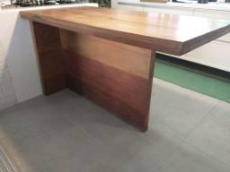 Título do anúncio: Mesa em madeira de demolição