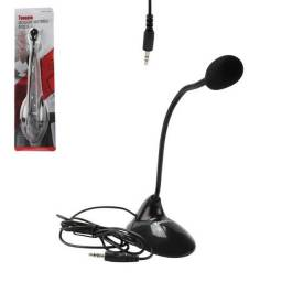Título do anúncio: Microfone mesa P2 multimídia Tomate MT-1027