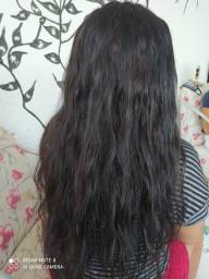 Título do anúncio: telas de cabelo 70 humanas centímetros