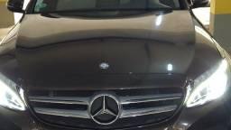Título do anúncio: Mercedes Benz C180, ano 2016, 30.200km, marron com interior bege