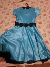 Título do anúncio: Vestido azul claro P