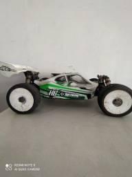 Título do anúncio: Automodelo Buggy HB Racing, Hot Bodies, Nitro, RC Car, Carrinho de Competição 1/8