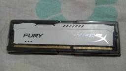 Memoria HypeX Fury, 8GB,1333MHz, DDR3,Branca - Usado