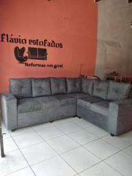 Sofa de canto 6 lugares
