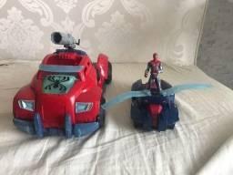Título do anúncio: Carro e JetSky lança teia com boneco Homem Aranha