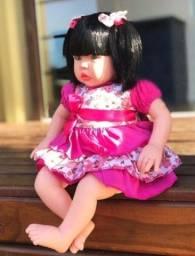 Título do anúncio: Boneca baby Kiss loira ou Morena - Estilo Reborn