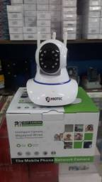 Título do anúncio: Câmeras Mine robozinho ip interna