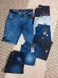 Título do anúncio: Bermudas jeans /