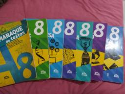 Livros do colégio adventista 8° ano, 250 reais