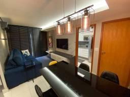 Apartamento Mobiliado e Decorado no Residencial Alvorada com 3 dormitórios à venda, 72 m²