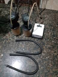 Filtro ,bomba, compressor, cortina