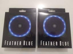 Ventoinha Pichau Gaming Feather 120mm Azul - Nova
