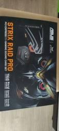 Título do anúncio: Placa de Som Asus Strix Raid Pro, PCIe, Canal 7.1