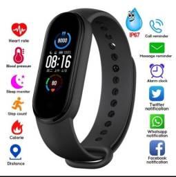 M5 Smart Watch Bluetooth 4.2 RESISTENTE À Água / Pulseira Esportiva De Verificação