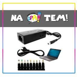 Fonte Notebook Laptop Universal Com Cabo Carregador 120w