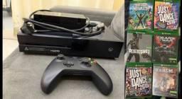 Xbox One Seminovo (em perfeito estado) + 6 jogos originais
