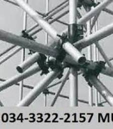 Título do anúncio: locação e montagem de andaimes multidirecional Jataí GO 034-3322-2157