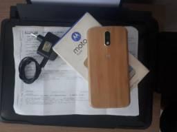 Moto G4 Plus 32GB Bambú Impecável com Nota fiscal e Garantia até 01/03/2019)