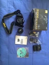 Nikon d3300 + lente 18-55