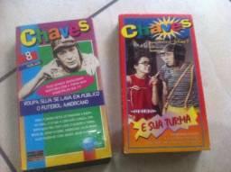 Fitas VHS Chaves (Seriado do SBT)