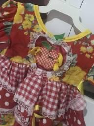 Vestido junino para bebe