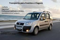 Doblo - Transporte para Eventos e Viagens
