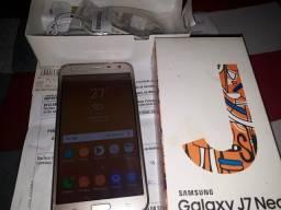 Galaxy j7 neo dtv dourado