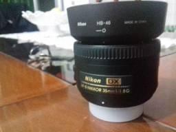Lente Nikon 35mm 1.8G AF-S