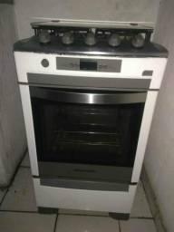 Fogão Brastemp luz de forno e acendimento automático