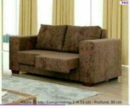 Promoção de Fabrica Sofa 2 lugares Retrátil