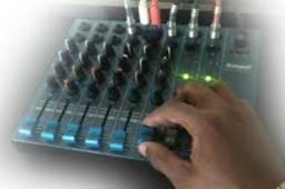 Mesa de som stanley 6 canais