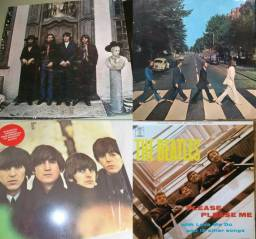 4 LPs The Beatles