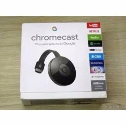 Chromecast (transforma TV em Smart) Rei Imports