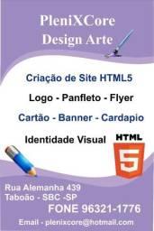 Criação de Logo , Sites HTML5 , Identidade Visual