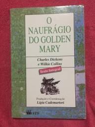 Livro O Naufrágio do Golden Mary (Charles Dickens e Wilkie Collins)