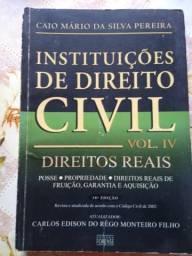 Livro Instituições de Direito Civil