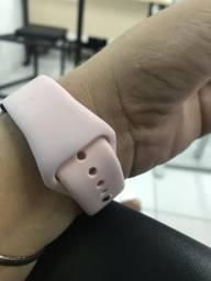 Vendo esse lindo relógio com duas pulseiras
