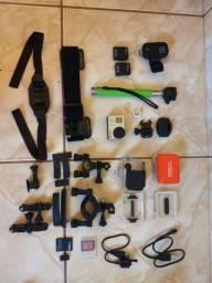 GoPro Hero 3 Black + acessórios originais