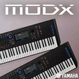 Teclado sintetizador Yamaha MODX6 - novo - nota fiscal e garantia