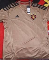 Camisa Sport Recife ADIDAS Dourada f4225923fb7ab