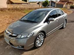 Honda Civic LXL Ano 2010 ? Modelo 2011 ? Cinza - Automático - 2011
