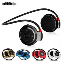 Fone Bluetooth Estéreo Esportivo