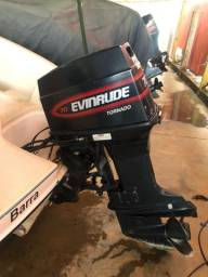 Vendo lancha Asterix 17 motor Evinrude 70